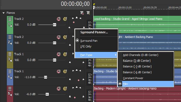 How to create a true 5 1 surround mix in Magix Vegas Pro [DIY]